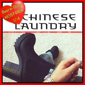 "Chinese Laundry Shoes - 👢🆕Chinese Laundry ""Boomerang"" Boots BNIB"
