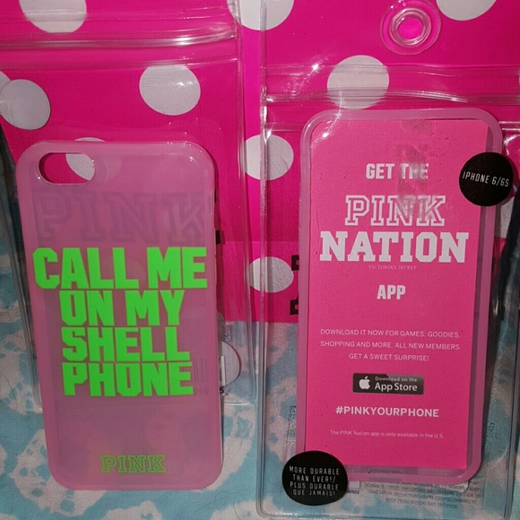 hot sale online 64037 f1130 PINK by VS call me on my shell iphone 6/6S case