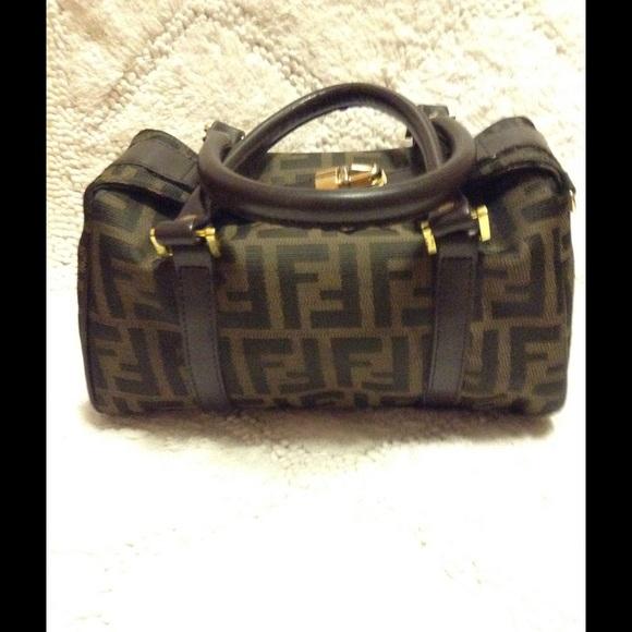 e5dd08d4464f Vintage Two-Way Fendi Mini Boston Bag. M 5785a6a2713fdef97002cc7e