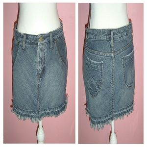 Lilu Dresses & Skirts - Juniors denim mini skirt