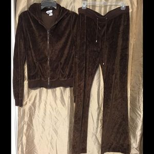 Long Elegant Legs Pants - Long Elegant Legs. 2 piece brown track suit