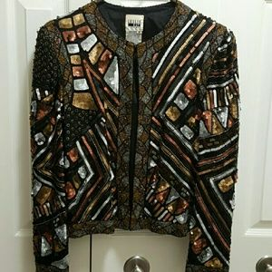 Jackets & Blazers - Ladies Sequin Jacket