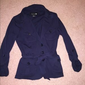 Navy blue jacket from forever 21