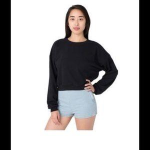 American Apparel Tops - Back in stock! American apparel cropped fleece!