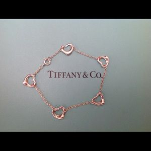 Tiffany & Co. Jewelry - TODAY ONLY ⛄️Tiffany & Co. Open Heart Bracelet