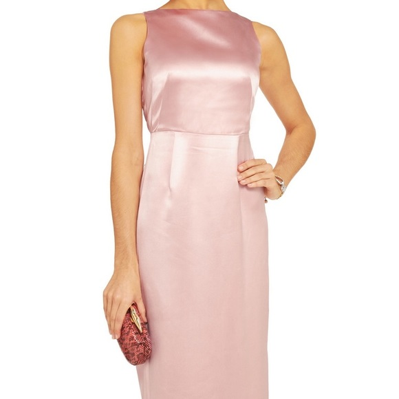 2b28624d181287 Raoul Women s Pink Bowie Silk-blend Satin Gown