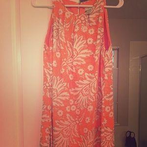 Beautiful Loft Floral Shift Dress