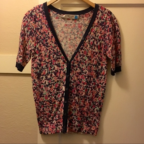 68% off Anthropologie Sweaters - Anthropologie Sparrow Floral ...
