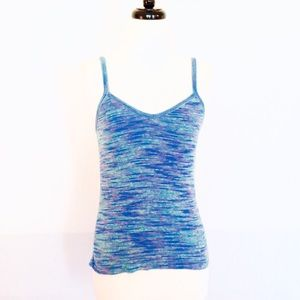 BOGO  90's Vintage Rainbow Knit Cami