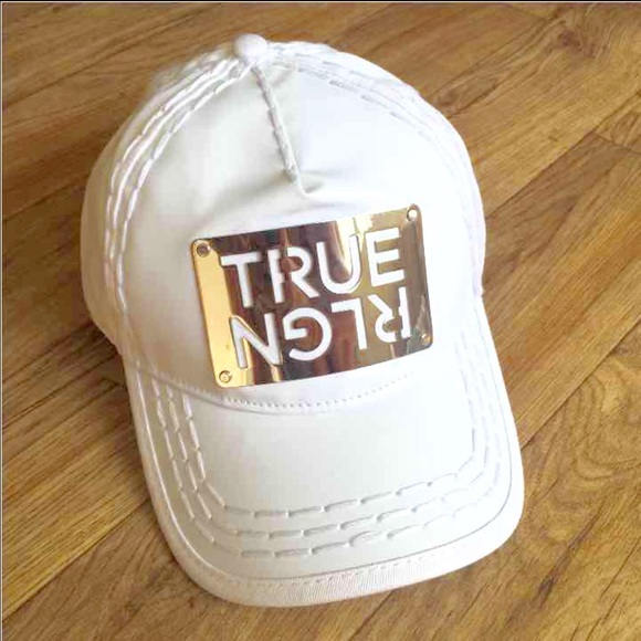 6b622902 True Religion Accessories | New Unisex White Hat Cap | Poshmark