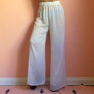 Keepsake Pants - Keepsake Intimates Sheer Stripe Pants