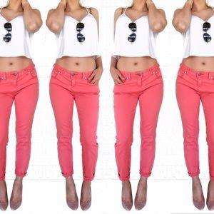 Free People Denim - Free people skinny colored pants