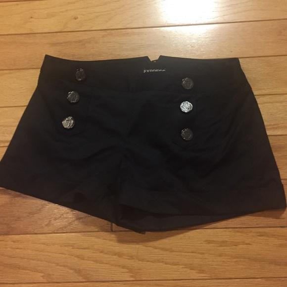67% off Express Pants - Express jean shorts and black dress shorts ...