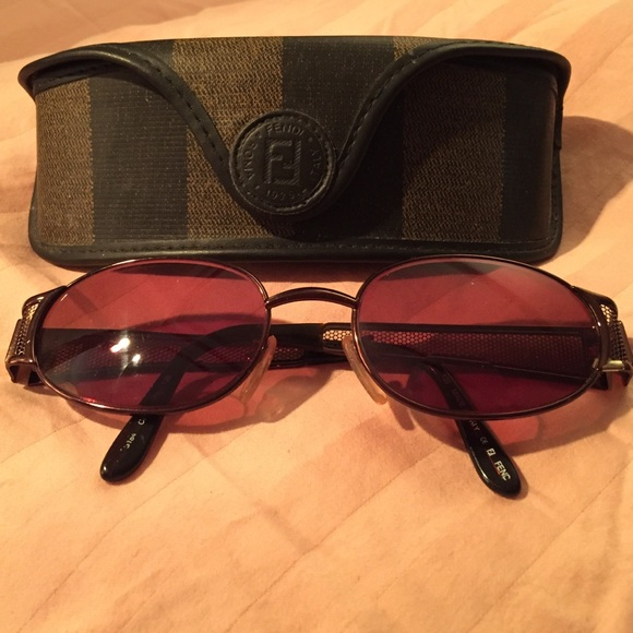 00b790ceb81 66% off FENDI Accessories - Vintage Fendi Sunglasses   Case  ADDITIONAL PIX  HP from