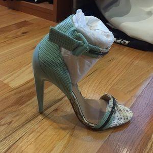 L.A.M.B. Shoes - LAMB ankle strap sandal.