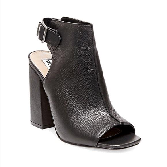 3a3f6c575ab Steve Madden chunky heel peep toe