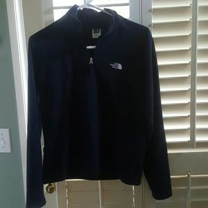 NORTH face black pull over