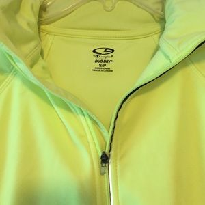 0ca0f67bd4ff Champion Jackets   Coats - C9 by Champion Neon Yellow Women s Running Jacket