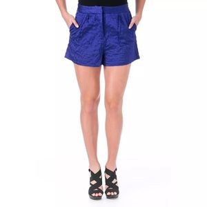 Elizabeth and James Pants - NWT💠Elizabeth and James Jody Satin Quilted Shorts