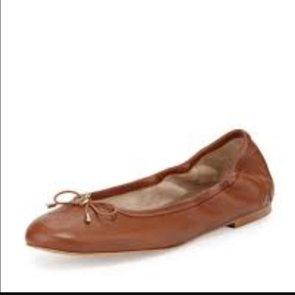 e53e35484803ba Sam Edelman Felicia Ballet Flats in Saddle Leather.  M 5786653b13302a838203f61f
