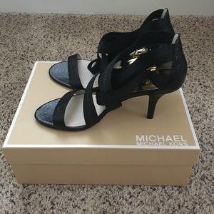 Michael Kors Shoes - Michael Kors Carina Cross Strap Shoes
