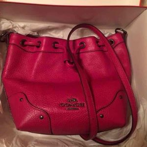 Pink ( magenta) color coach