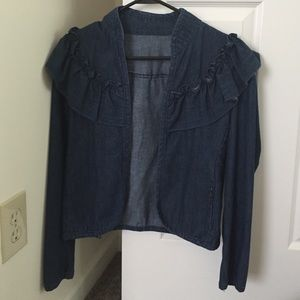  Vintage denim jacket size small