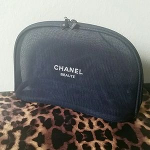 Chanel  Other - Large Chanel Beaute Mesh Makeup Bag
