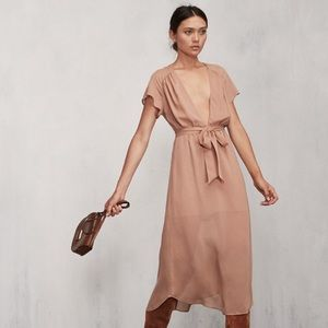 Reformation Thalia flowy midi dress
