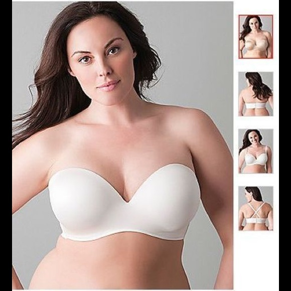 70% off Cacique Other - EUC Cacique Multi-Way Strapless Bra size ...