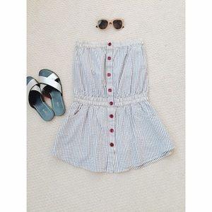 Geren Ford Dresses & Skirts - Geren Ford Seersucker Mini Dress/Tunic