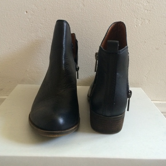 98bb815f559 Lucky brand black LK-Basonta ankle booties