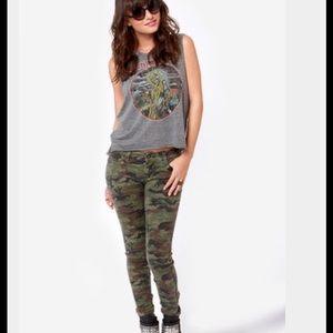 Tripp nyc Denim - Tripp NYC Camo Skinny Jeans