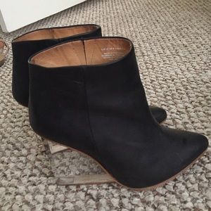 Maison margiela x h&m black booties