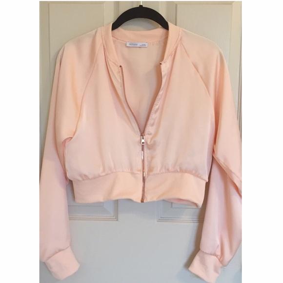 56% off Zara Jackets & Blazers - Zara Short Bomber Jacket from ...