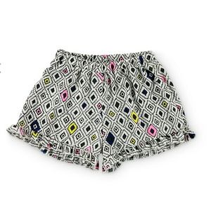 Trillium Pants - Trillium Macy Multi Geo Ruffle Shorts