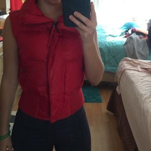 Express vest! Great for autumn weather! 🍁🍂