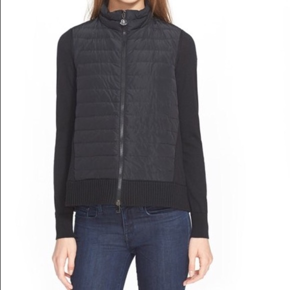 moncler maglione cardigan