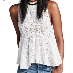 Free People Tops - Free people Maisie lace tank