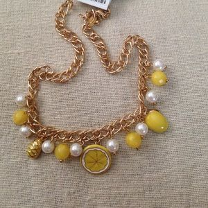 Yellow Fruit Necklace