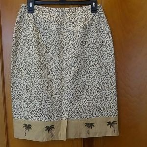 Coldwater Creek Skirts - Cold Water Creek leopard print skirt