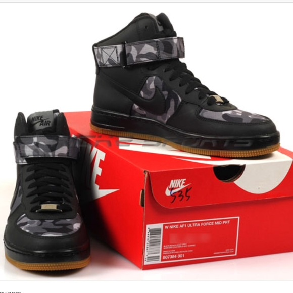 on sale 90d69 68df3 WMNS Nike AF1 ultra force mid PRT camo