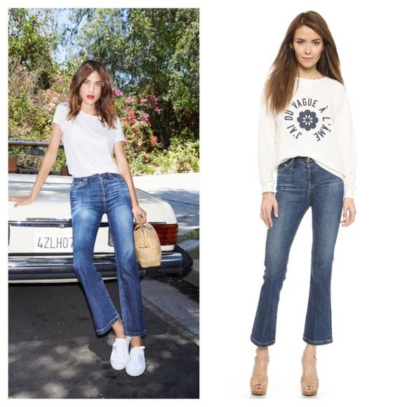 5981f2e3721 AG Adriano Goldschmied Denim - Alexa Chung for AG revolution jeans 30