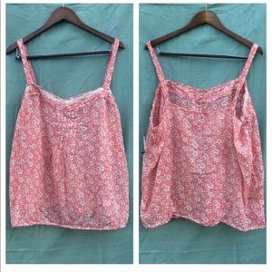 XXL {Old Navy} Floral Plus Size Tank