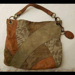 Fossil Handbags - SALE! Fossil suede & leather purse