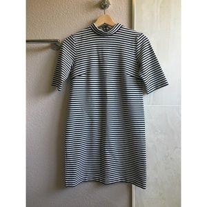CLUB MONACO Lindy Striped Knit Dress