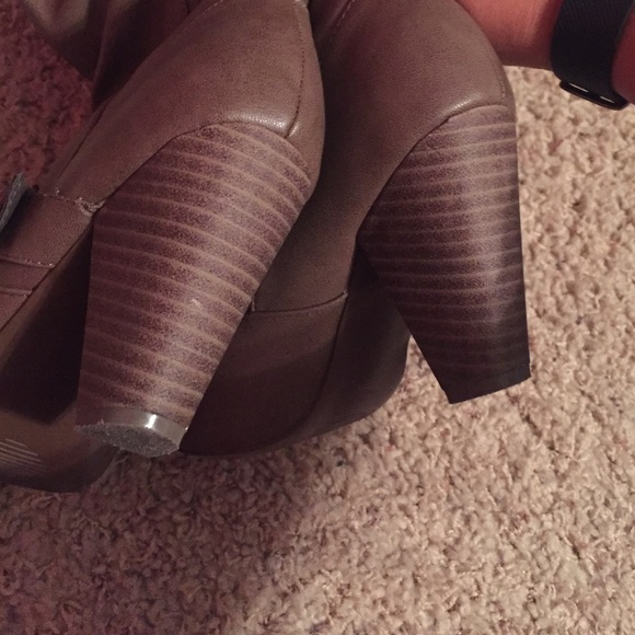 rage light brown rage heel boots from s
