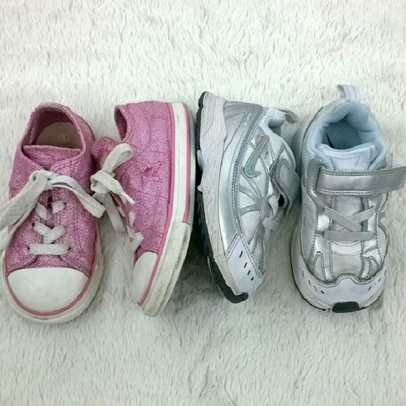 Converse/Nike - 2 Pair of Toddler Sneakers - Size 8 from ...
