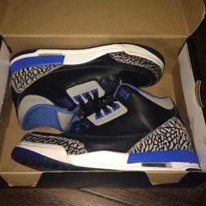 Jordan Shoes - air Jordan retro sport blue 3s