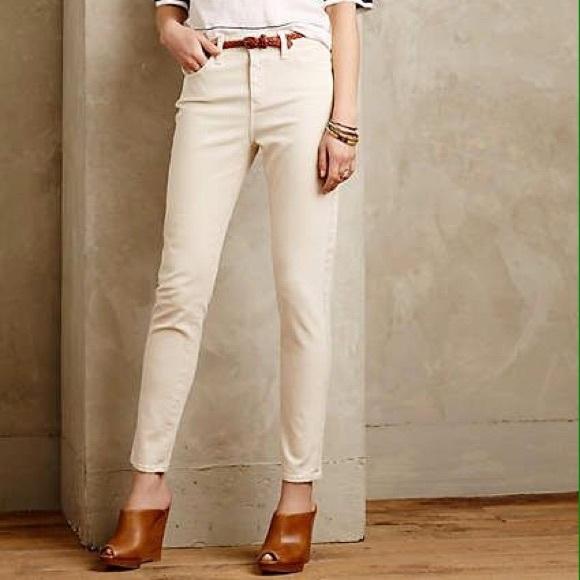 8d5a13f0a98 Anthropologie Denim - Alexa Chung for AG Brianna High Rise Jeans